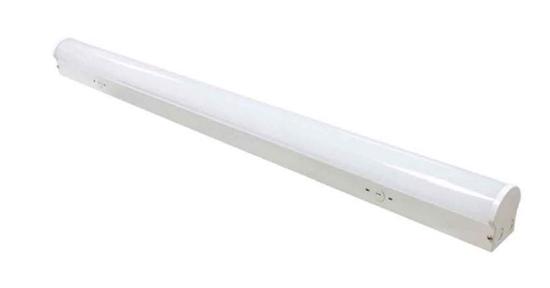 Led Lighting Wholesale Inc 4 Foot Linear Strip Light 24 Watt 4000k Case Of 4